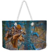 Clump Of Fall - Early Winter Weekender Tote Bag