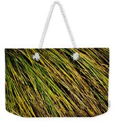 Clump Of Grass Texture Weekender Tote Bag