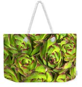Clustered Succulents Weekender Tote Bag