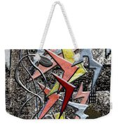 Clutch Of Chevrons Weekender Tote Bag