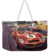 Cma 051 1962 Le Mans Ferrari 330 Driver Phil Hill Roy Rob Weekender Tote Bag