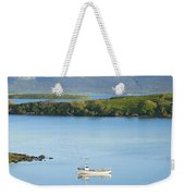 Co Mayo, Ireland Fishing Boat In Clew Weekender Tote Bag