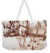 Coach Horses Weekender Tote Bag
