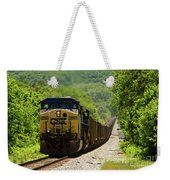 Coal Train Weekender Tote Bag