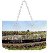 Coal Train Weekender Tote Bag