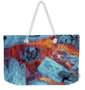 Coals And Embers Weekender Tote Bag