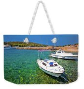 Coast And Beach Of Prvic Island Summer View Weekender Tote Bag