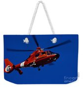 Coast Guard Helicopter Weekender Tote Bag