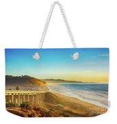 Coast Highway Del Mar Weekender Tote Bag