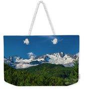 Coast Mountains Weekender Tote Bag