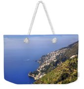 Coast Of Amalfi Weekender Tote Bag