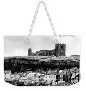 Coast - Whitby Abbey And Church Weekender Tote Bag