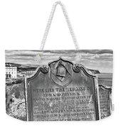 Coast - Whitby Freemason Grave Weekender Tote Bag