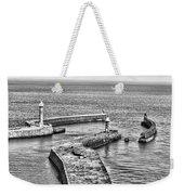 Coast - Whitby Harbour Weekender Tote Bag