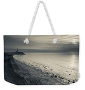 Coast With A Lighthouse Weekender Tote Bag