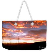 Costa Rican Mountain Valley Sunset Weekender Tote Bag