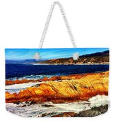 Coastal Abstraction Weekender Tote Bag