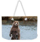 Coastal Brown Bears On Salmon Watch Weekender Tote Bag