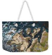 Coastal Crevices Weekender Tote Bag