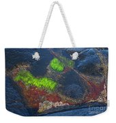 Coastal Floor At Low Tide Weekender Tote Bag