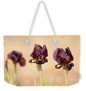 Coastal Iris  Weekender Tote Bag