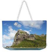 Coastal Peak Weekender Tote Bag