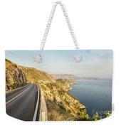 Coastal Road Near Dubrovnik In Croatia Weekender Tote Bag