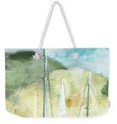Coastal Sails Weekender Tote Bag