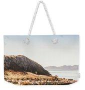 Coastal Tasmanian Town Weekender Tote Bag