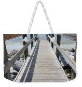 Coastal Walkway Weekender Tote Bag