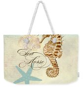 Coastal Waterways - Seahorse Rectangle 2 Weekender Tote Bag
