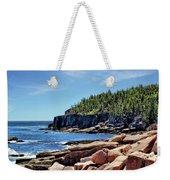 Coastline And Otter Cliff 3 Weekender Tote Bag