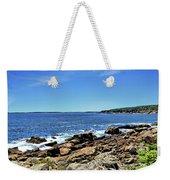 Coastline At Otter Point 5 Weekender Tote Bag