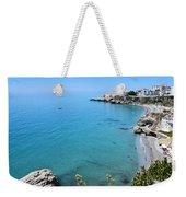 Coastline Of Nerja-spain Weekender Tote Bag