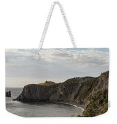 Coastline Of Skerwink Trail, Trinity, Newfoundland, Canada  Weekender Tote Bag