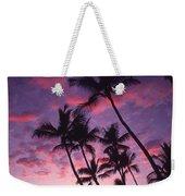 Coastline Palms Weekender Tote Bag
