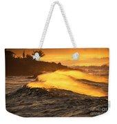 Coastline Sunset Weekender Tote Bag