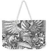 Coat Of Arms Of The House Of Dbcrer 1523 Weekender Tote Bag