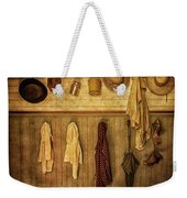 Coat Room At The Old Schoolhouse Weekender Tote Bag