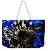 Cobalt Blue Wormhole Weekender Tote Bag