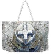 Cobalt Cat Weekender Tote Bag