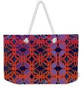 Cobalt Crimson Weekender Tote Bag
