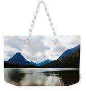 Cobalt Lake Weekender Tote Bag