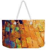 Cobble Stones In Color Weekender Tote Bag