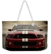 Cobra Red Weekender Tote Bag