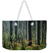 Cobwebs And Tree Trunks Weekender Tote Bag