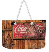 Coca Cola Barn Weekender Tote Bag