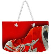 Coca-cola Can Crush Red Weekender Tote Bag