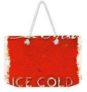 Coca-cola Cooler Weekender Tote Bag