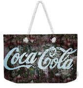 Coca Cola Wall Weekender Tote Bag